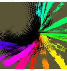 colorful background vector image vector image