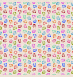 abstract colorful wheels candy pattern design vector image