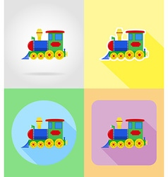 Baby flat icons 15 vector