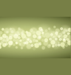 green lights backgrounds vector image