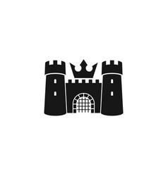 old castle logo vector image