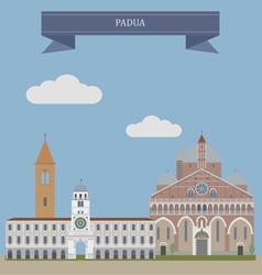 Padua vector image vector image