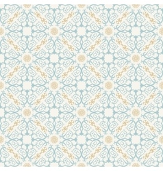 Seamless background in Arabic style vector