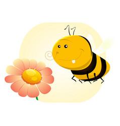 Spring bee vector
