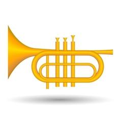 Trumpet icon vector