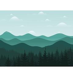 Mountain8 vector image vector image