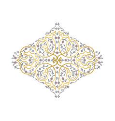 ornamental decorative fram vector image