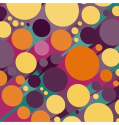 Abstract 3d background with colorful cylinders vector image