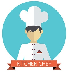 A of kitchen chef vector