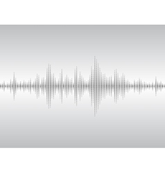 Abstract sound waves vector image