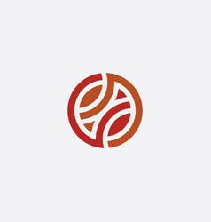 Basketball logo design icon symbol vector