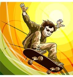 Easy skater vector