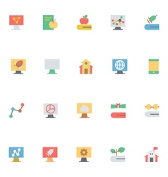 Education Colored Icons 13 vector