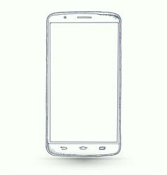 new smartphones vector image