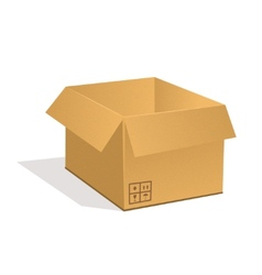 Post parcel vector image