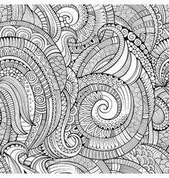 Vintage decorative ornamental seamless pattern vector