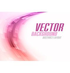 background curve stripes purple white vector image