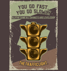 a traffic light vector image