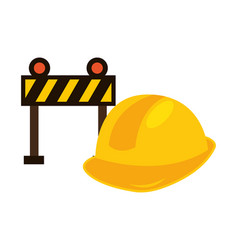 Construction equipment design vector