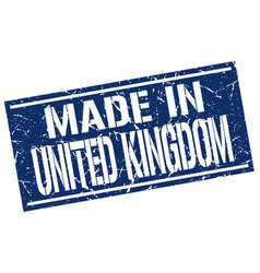 Made in united kingdom stamp vector