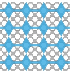 Seamless pattern with geometric shapes vector