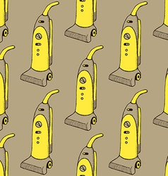Sketch vacuum cleaner vector