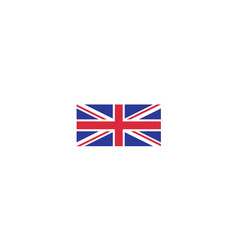 united kingdom flag national country emblem state vector image