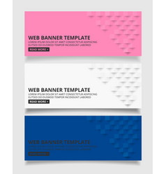 white pink and blue square geometric texture vector image vector image