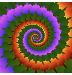 Abstract spiral background eps10 vector image vector image