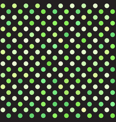 Polka dot pattern seamless background vector