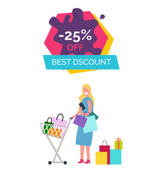 -25 off best discount on vector image