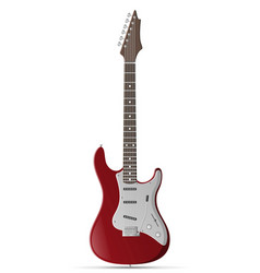 electric guitar stock vector image