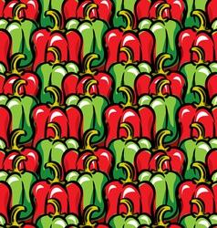 paprika background vector image