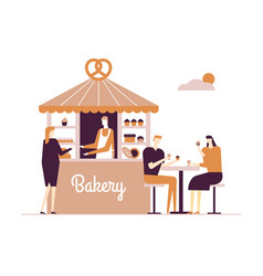 bakery - modern flat design style vector image