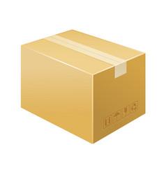 box icon delivery vector image