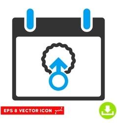 Cell Penetration Calendar Day Eps Icon vector image