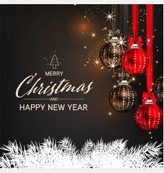 christmas social media pomotepromotion post vector image