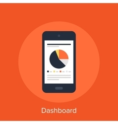 Dashboard vector