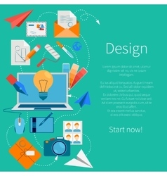 Design Development Composition vector