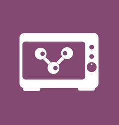 Icon molecules in monitor vector