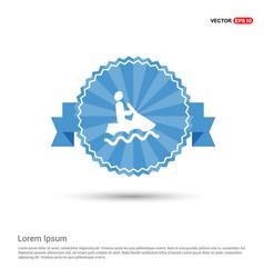Jet boat icon vector