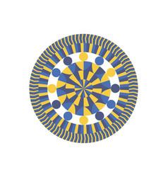 mandala mandala vector image