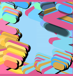 Modern style abstraction vector