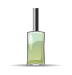 Perfume bottls icon eau de vector