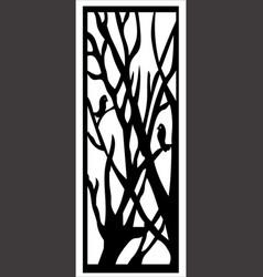 window ornament vector image