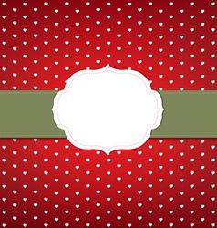 Elegant Dotted Invitation Background vector image vector image