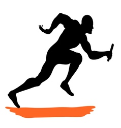 Athlete vector image vector image