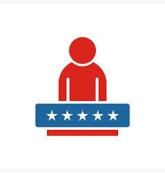 America People USA logo icon vector