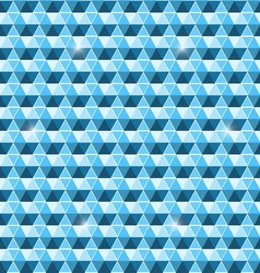 Beautiful seamless hexagon pattern background vector image