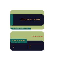 Company card design vector